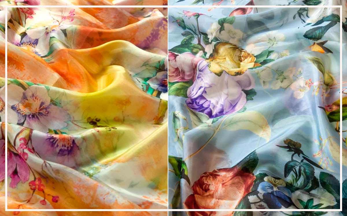 Pañuelos De Flores
