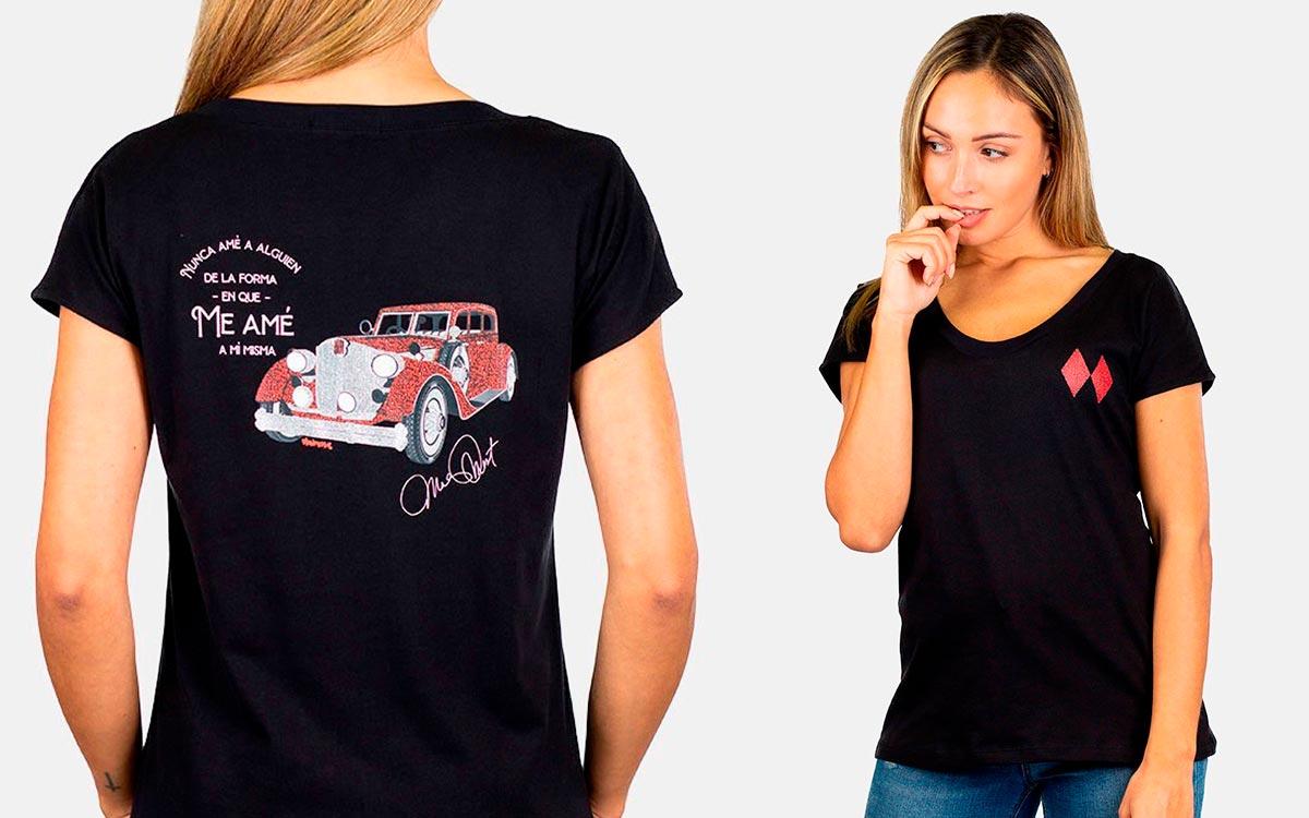 Camisetas Con Mensajes Mujer