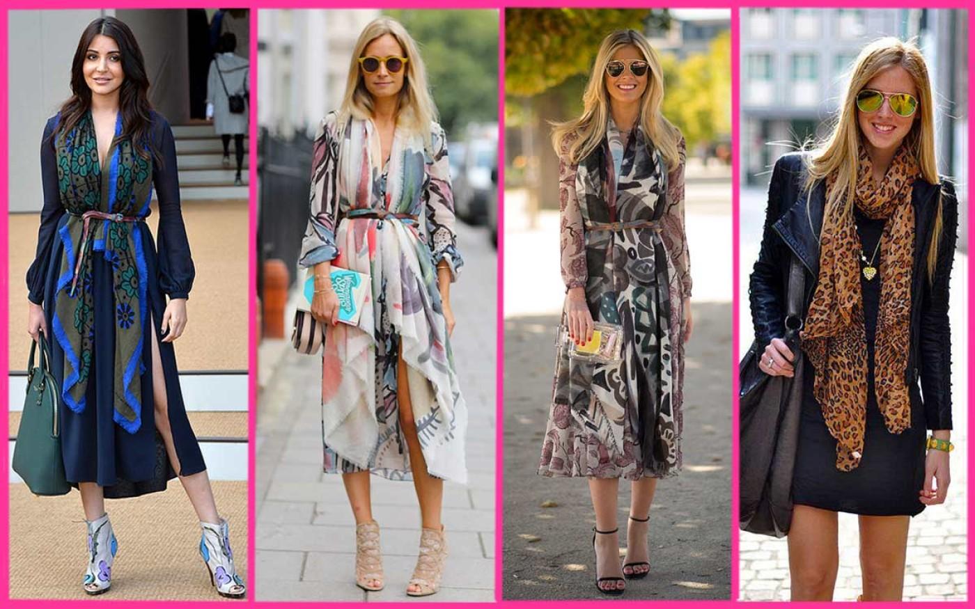 Complementos: Pañuelos de Seda Mujer decisivos de temporada