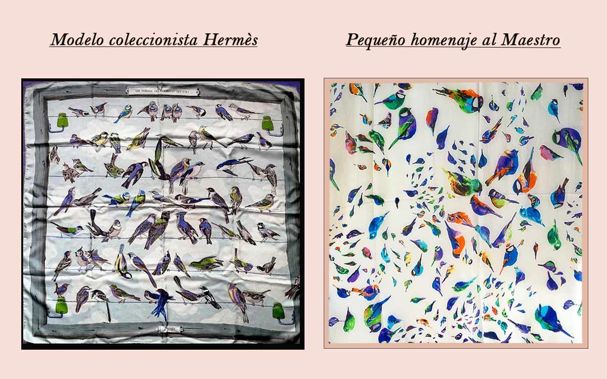 Pañuelos de seda natural, pequeña historia de un Maestro.