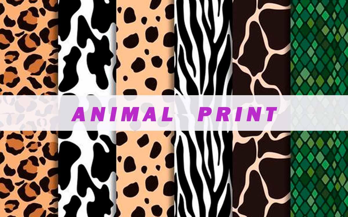 Pañuelos De Seda Animal Print