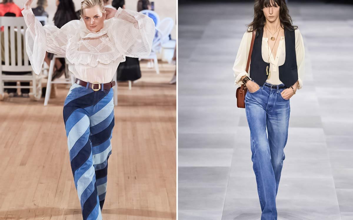 Pantalones Campana Talla Grande