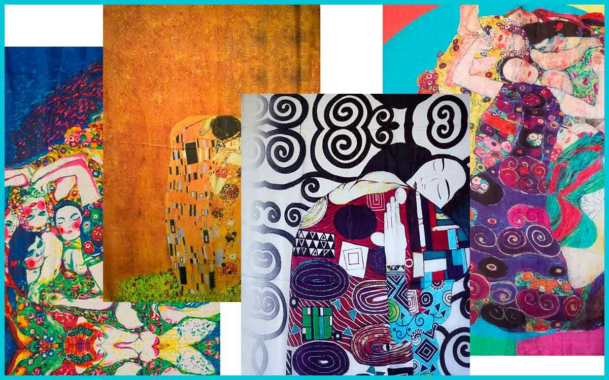 Pañuelo Gustav Klimt