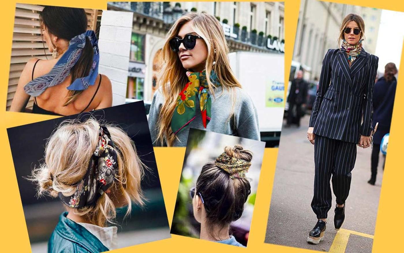 Pañuelos en el pelo 2018