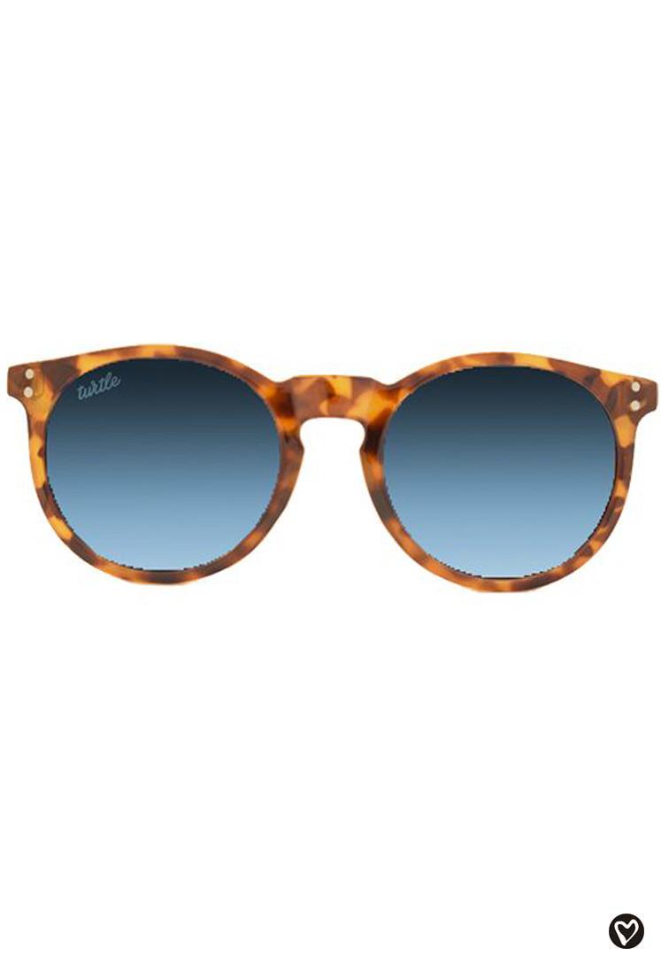 baa93e9c60 Gafas de sol redondas de cristal azul