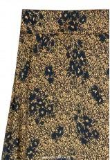 Falda raso midi