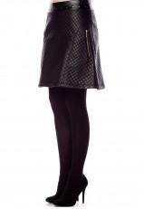 Falda Rosalita Macgee acolchada negra