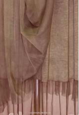 Falda tul marrón cintura elástica