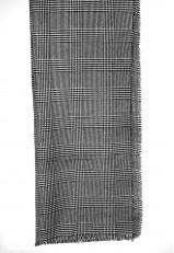 Bufanda lana cuadros Principe de Gales