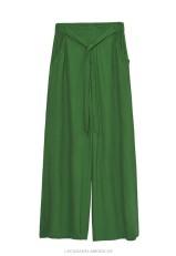 Pantalón ecológico verde mujer