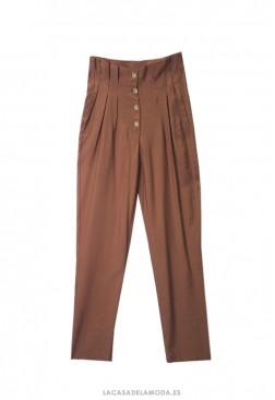 Pantalón pinzas mujer estilo años 80