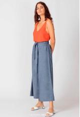 Pantalón culotte mujer