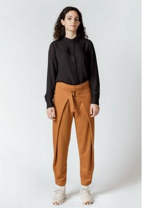 Pantalón holgado mujer