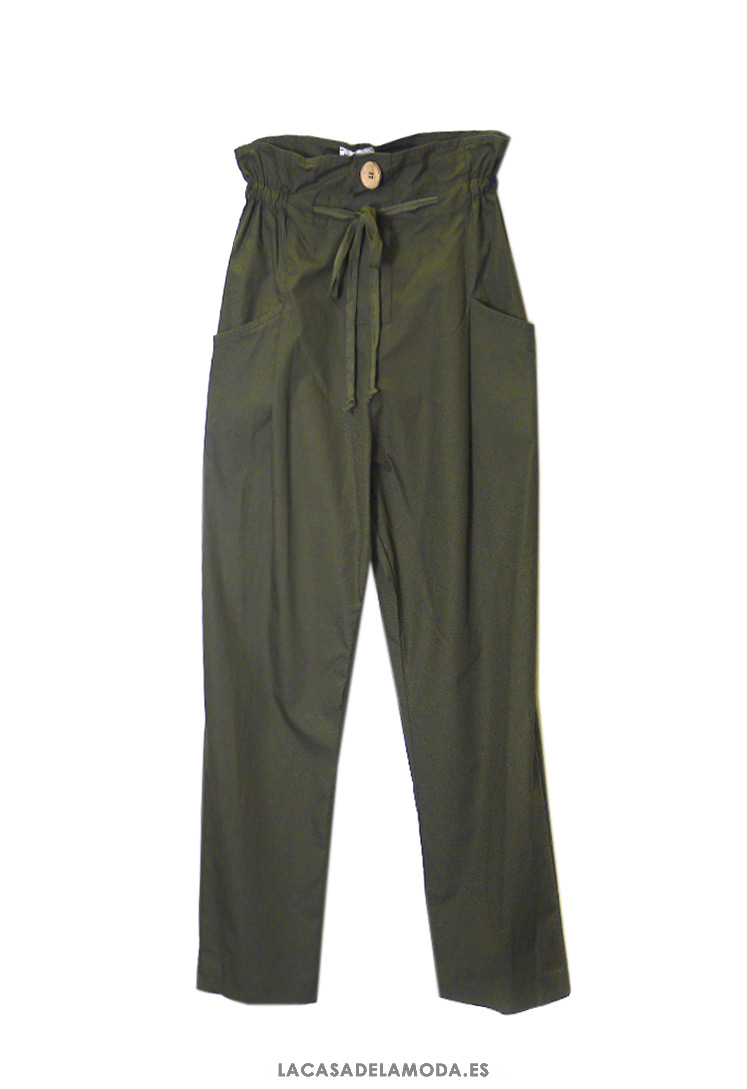 Shvati Deformacija Suncokret Pantalon Verde Militar Con Bolsillos Mujer Apartmani Mirela Com