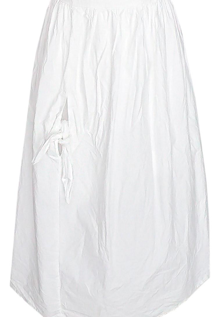 baee1d3716 ... Vestido blanco largo elegante para la noche o la oficina ...