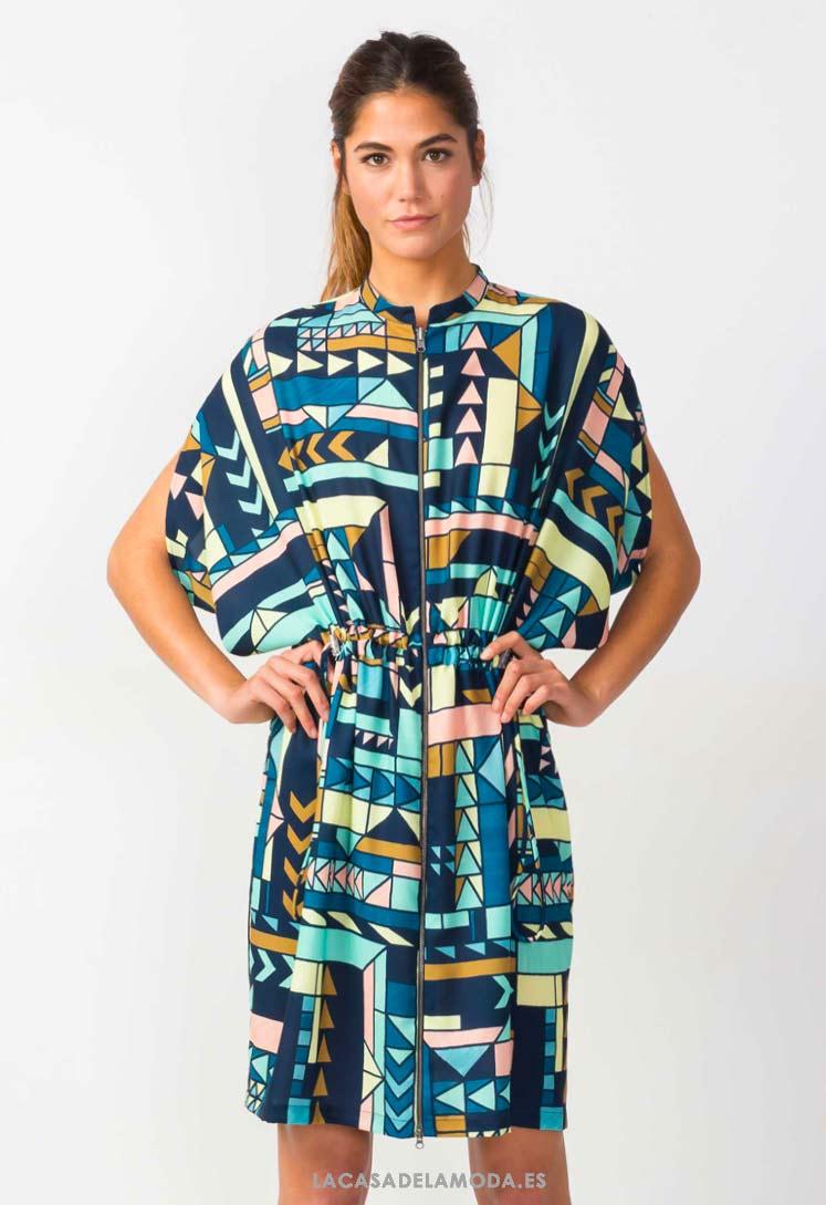 275e7460f6 Vestido estampado ropa ecológica galicia