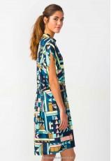 Vestido estampado ropa ecológica galicia
