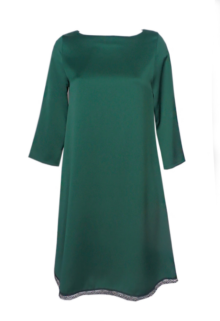 Complementos para vestido verde botella boda
