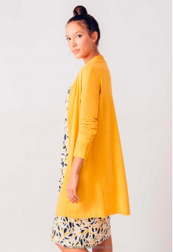 Chaqueta amarilla punto ecológico