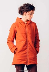 Parka impermeable mujer acolchada