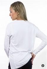 Camiseta con frase para fiesta con pedrería